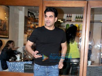 Arbaaz Khan spotted at Sequal Bandra