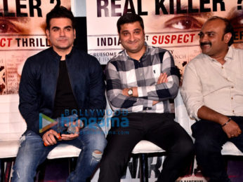 Arbaaz Khan, Manjari Fadnis, Mahek Chahal at 'Nirdosh' trailer launch