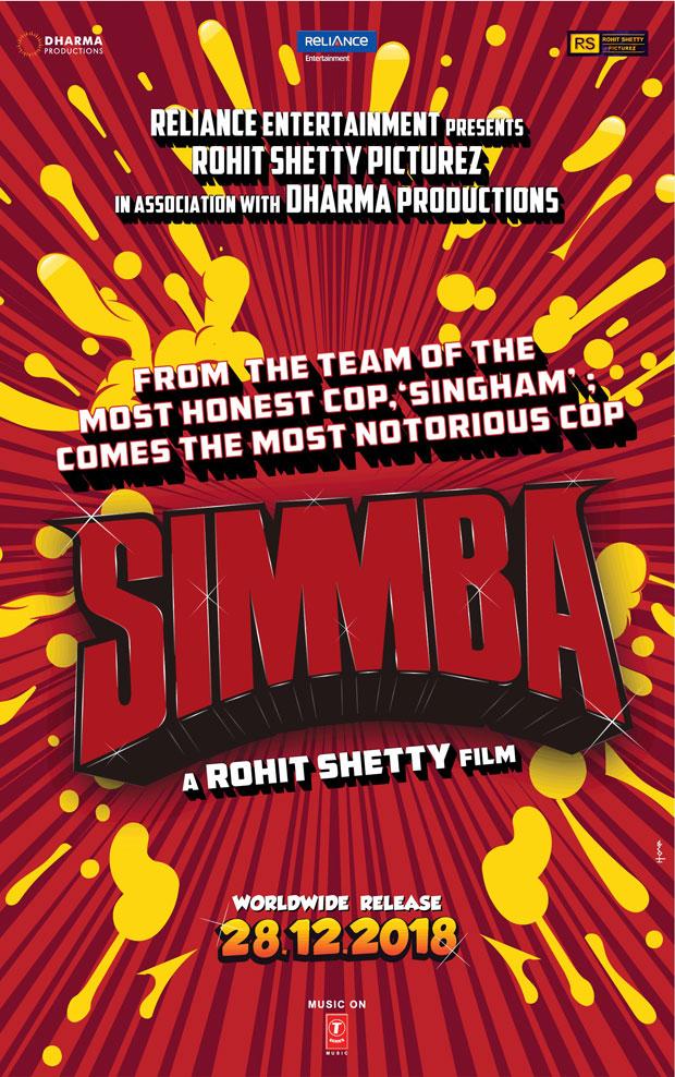 BREAKING Ranveer Singh in and as Simmba; di