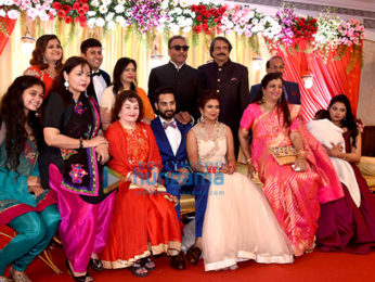 Bollywood celebs attend veteran Bollywood journalist Chaitanya Padukone's daughter Apeksha's weddig with Karan Mahajan