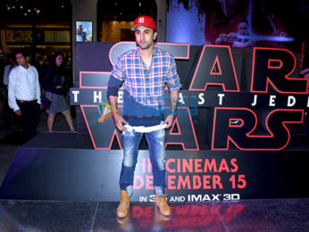 Celebs grace the premiere of 'Star Wars: The Last Jedi'