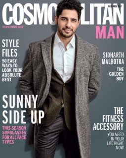 Sidharth Malhotra On The Cover Of Cosmopolitan