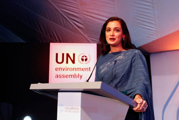 Dia Mirza hosts the Earth Champs Awards at the UN Environment Assembly in Nairobi -1