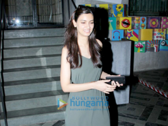 Diana Penty snapped at the Bandra project