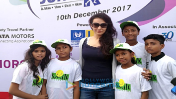 Dipannita Sharma flags off 'Mumbai Juniorthon 2017'