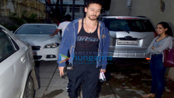 Disha Patani and Tiger Shroff snapped at Reset gym