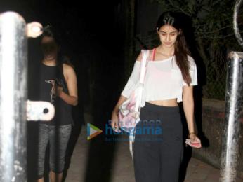 Disha Patani spotted at Satyam Dance Hall in Juhu