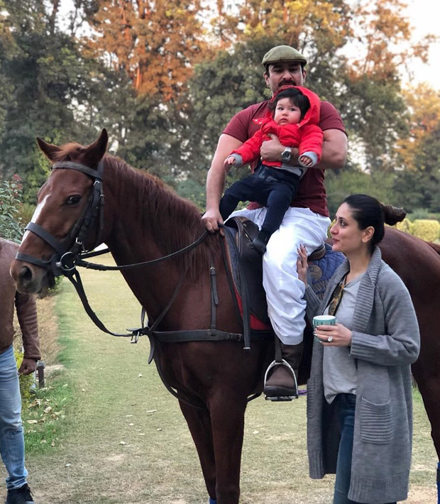 Don't miss these cute pictures of Taimur Ali Khan having a gala time at the Pataudi palace (1)