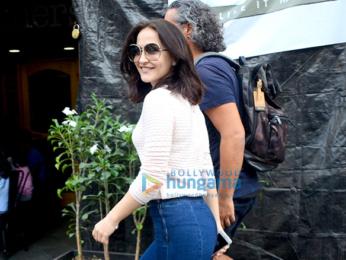 Elli Avram snapped in Bandra