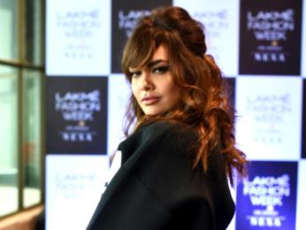 Esha Gupta at Mumbai auditions of 'Lakme Fashion Week Summer Resort 2018'