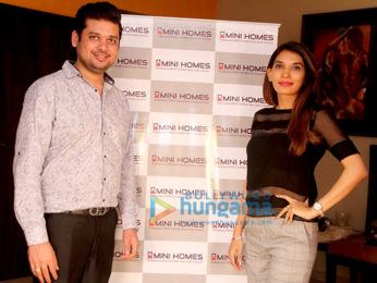 Ex-Miss World Diana Hayden becomes the brand ambassador for 'Mini Homes'