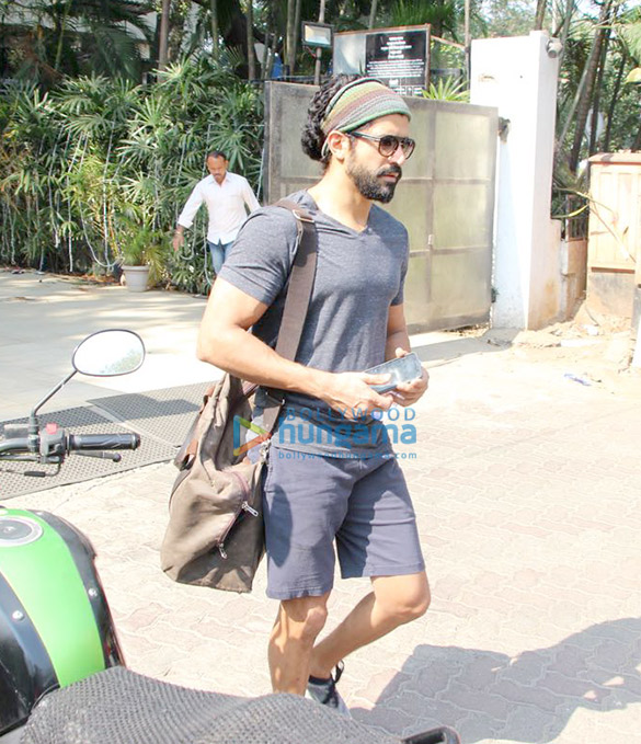 Farhan Akhtar snapped at Otters Club