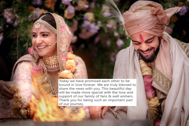 Don't Miss! Virat Kohli opens up about his wedding with Anushka Sharma