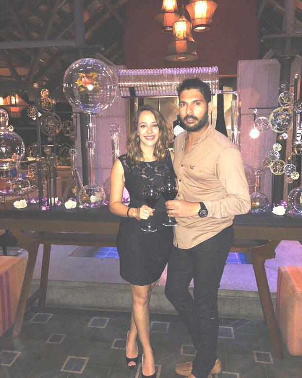 Hazel Keech shares a beautiful message for husband Yuvraj Singh on their first anniversary