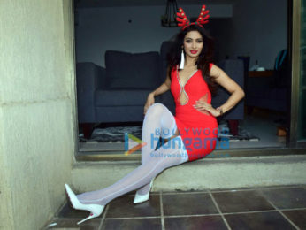 Heena Panchal snapped during a special photoshoot for Christmas