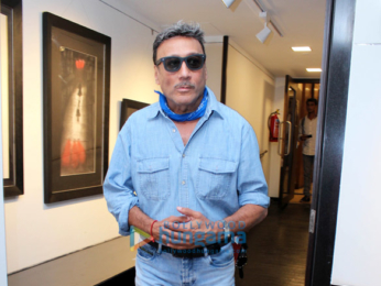 Jackie Shroff, Pooja Bedi and others at the inauguration of Gautam Patole's exhibition 'Black is Beautiful'