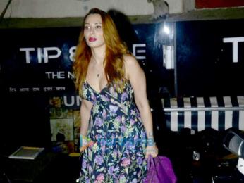 Iulia Vantur snapped at Pali Hill in Bandra