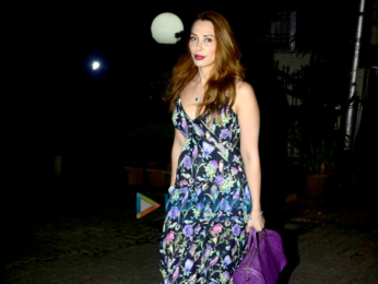Iulia Vantur snapped at Pali Hill in Bandra