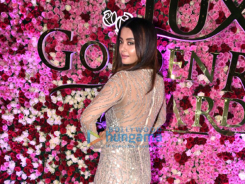 Jacqueline Fernandez, Bhumi Pednekar, Urvashi Rautela & other celebrities grace 'Lux Golden Rose Awards 2017' in Mumbai