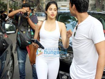 Janhvi Kapoor spotted at Kitchen Garden