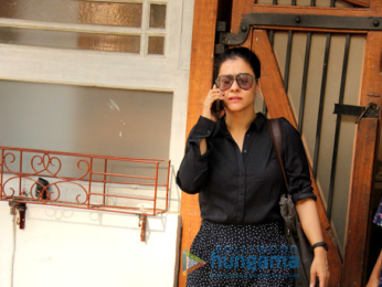 Kajol spotted at the Febel Cooking store in Juhu