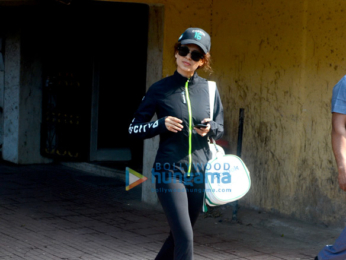 Kangana Ranaut spotted at a Pilates studio