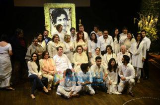 Kapoor family attends Shashi Kapoor's prayer meet at Prithvi theatre