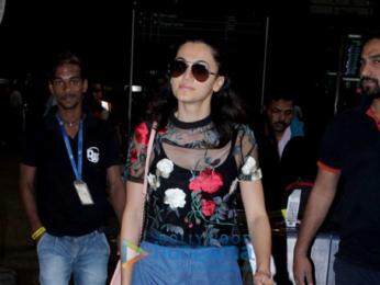 Karan Singh Grover, Bipasha Basu and Taapsee Pannu snapped at the airport
