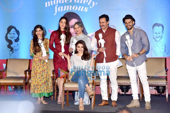 Kareena Kapoor Khan, Saif Ali Khan, Sharmila Tagore and Kunal Khemu at Soha Ali Khan's book launch at Taj Lands End