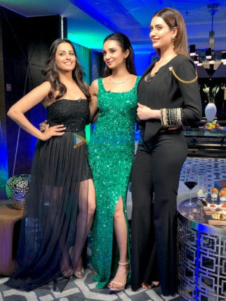 Karishma Tanna snapped at 'Table for two' chat show on Zee Cafe