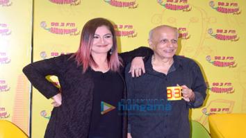Mahesh Bhatt and Pooja Bhatt spotted recording for the show 'Bhatt Naturally'
