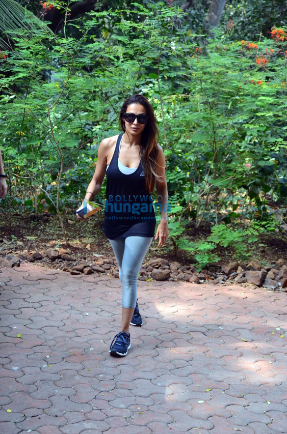Malaika Arora snapped after dance rehearsals