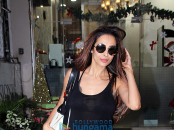 Malaika Arora snapped at spa and salon