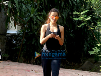 Malaika Arora spotted at her dance class