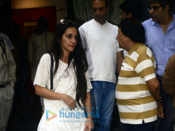 Members of Bollywood fraternity attend Shashi Kapoor's chautha