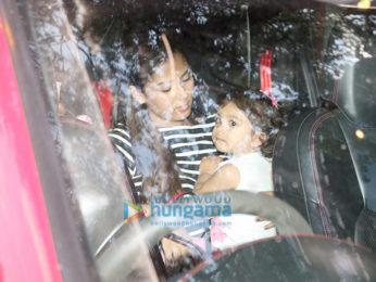 Mira Rajput and Misha snapped in Mumbai