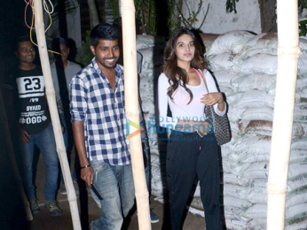 Nidhhi Agerwal spotted at Sunnyday Spa