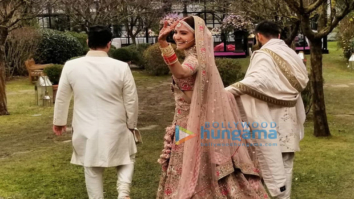 PHOTO Anushka Sharma is the happiest bride during her 'bidaai' with Virat Kohli