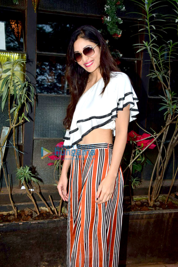 Pooja Chopra snapped at Indigo