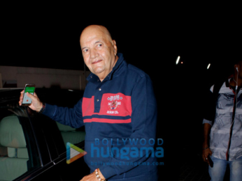 Prem Chopra spotted at PVR Juhu