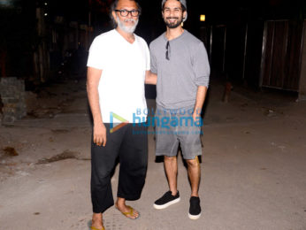 Rakeysh Omprakash Mehra and Shahid Kapoor snapped in Bandra