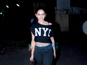 Rakul Preet spotted after gym