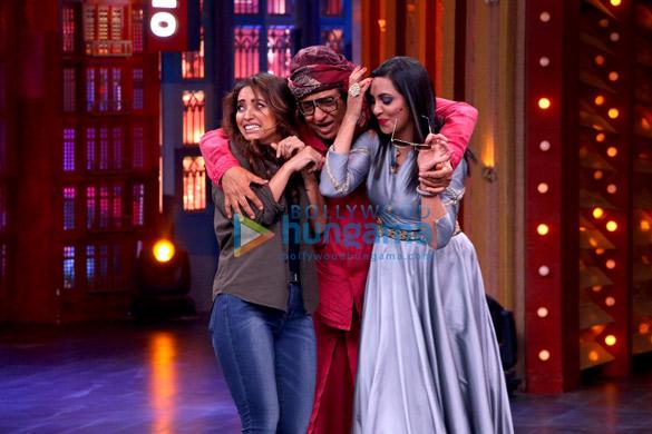 Ranjeet, Shakti Kapoor and other celebs shoot for 'Entertainment Ki Raat' villain special episode (1)