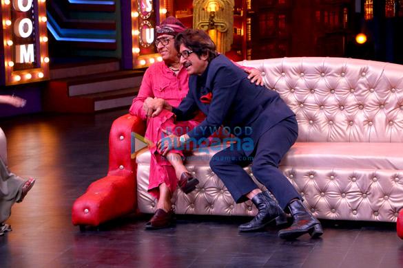 Ranjeet, Shakti Kapoor and other celebs shoot for 'Entertainment Ki Raat' villain special episode