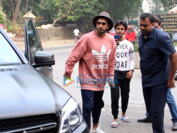 Ranveer Singh Snapped at Otters Club-