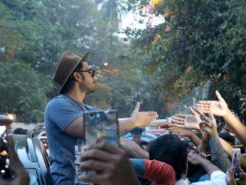 Ranveer Singh meets fans at Otters Club