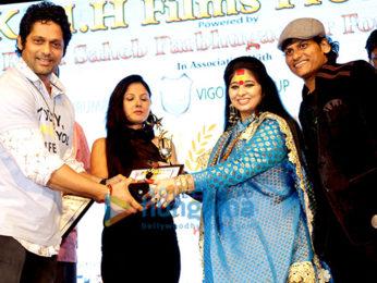 Ravi Dubey, Ahsaan Qureshi, Sharad Malhotra, Meghna Naidu, Iqbal Khan & others attend the 4th Dashnik Mumbai Press Media Awards in Mumbai