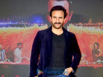 Saif Ali Khan snapped promoting his film Kaalakaandi