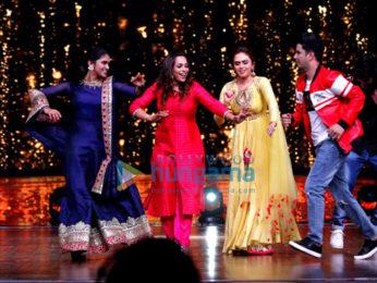 Sairat actors and Bosco Martis shoot for 'Dance India Dance 6'