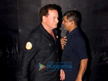 Salman Khan and Salim Khan snapped at Tiger Zinda Hai screening